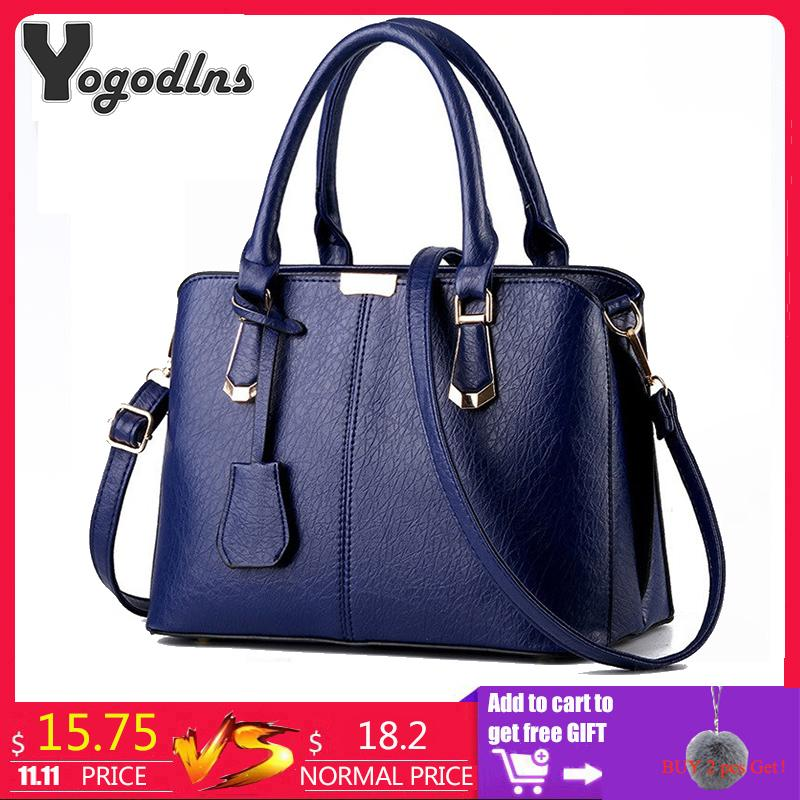 2019 Fashion Women Luxury Handbags New Stylish Female Shoulder Bags Sac A  Main Bolsos 2018 New Ladies Pu Leather Messenger Bags Casual Totes Cheap  Bags ... 1d92023b9323b