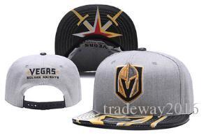 2db138c3a14f4 New Caps Vegas Golden Knights Hockey Snapback Hats Black Color Cap  Gold/Black/Gray Visor Team Hats Mix Match Order All Caps Top Quality Hat