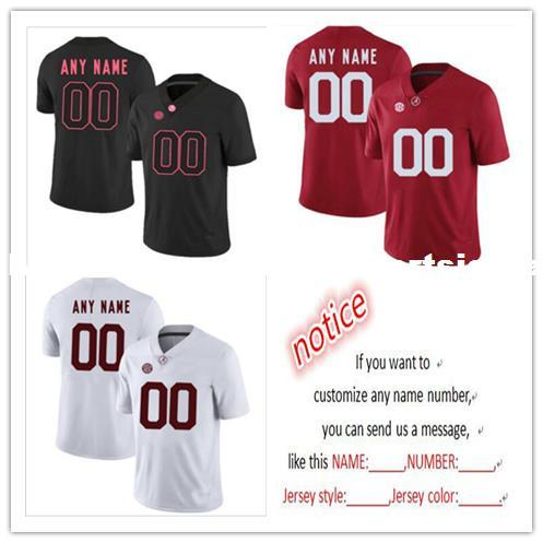 14fbd051705 2019 Cheap Custom Alabama Crimson Tide Men S College Football Jersey  Customized Jersey Any Name Number Stitched Jersey XS 5XL From  Customsportsjersey
