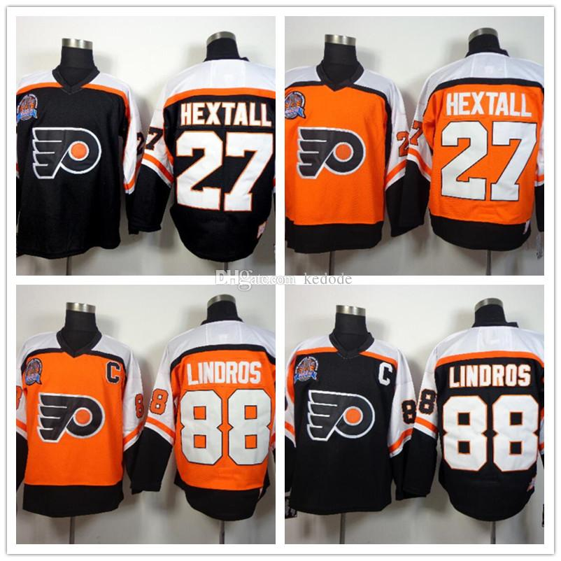c34065c82ac 2cf29 06b0b  canada throwback orange black jersey 2018 201718 ccm mens  philadelphia flyers 27 ron hextall 88 eric