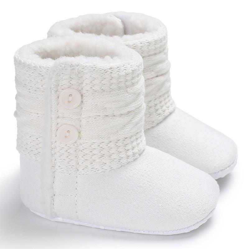 5024df47edf0 2019 Newborn Infant Winter Warm Baby Snow Boots New Baby Boy Girl ...