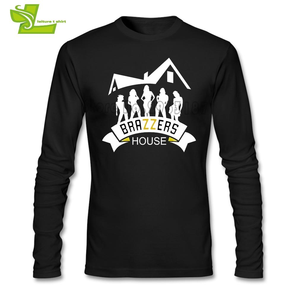 Brazzers House T Shirt Adult New Arrival Unique Tshirt Casual Custom