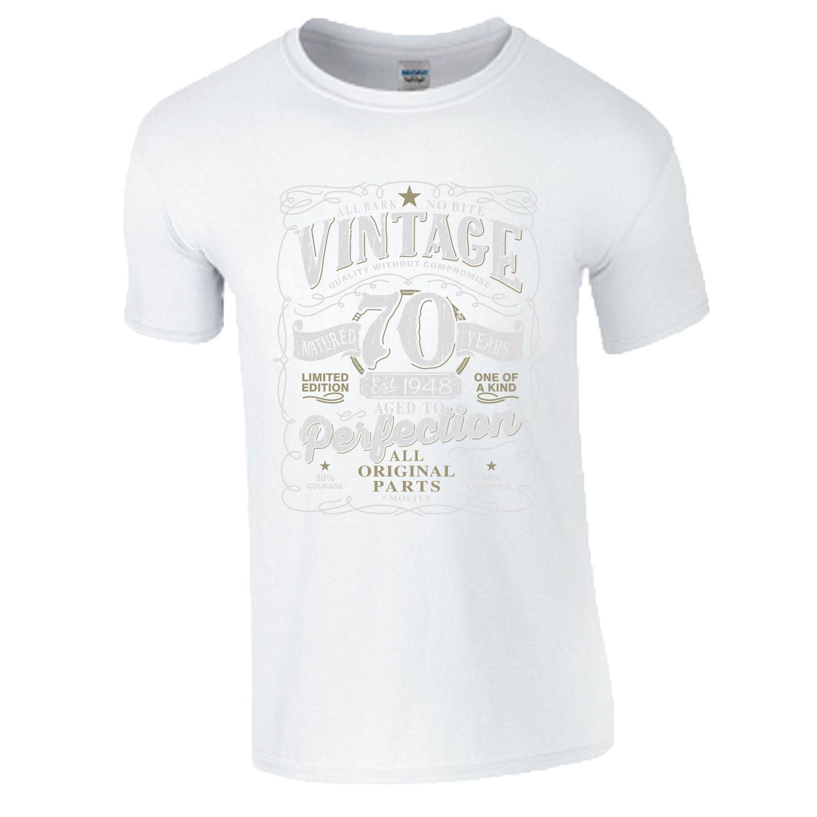 Acquista T Shirt Da 70 Compleanno Regalo Made In 1948 Parti