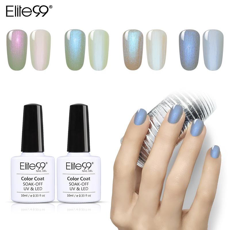 Elite99 10 ml Shell Nail Gel Vernis Sirène Gel UV Vernis Perle Shell Vernis À Ongles Vernis Semi Permanent Gelpolish