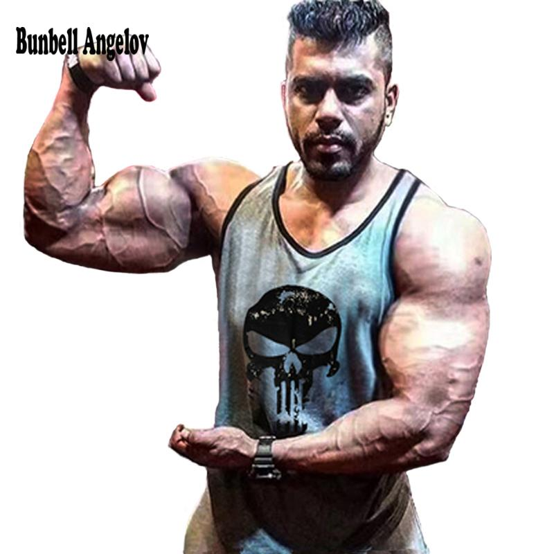 Bunbell Angelov Gyms Tank Top Men Bodybuilding