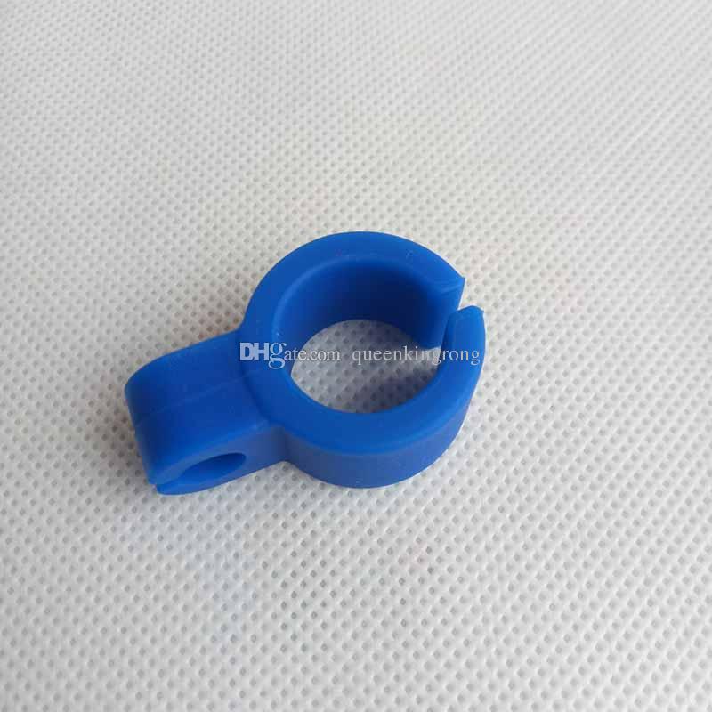 Porta sigaretta in silicone tabacco anello dito fumo utensili tubi accessori i narghilè acqua bollabller Bongs