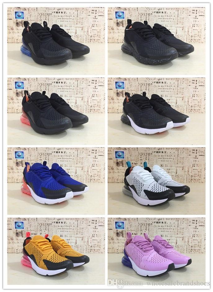 separation shoes f41e6 29d01 Compre Top Vapormax 270 Zapatos Para Correr Hombres Mujeres Zapatos Para  Correr Al Aire Libre Vapor Negro Blanco Deporte Shock Jogging Caminar  Senderismo ...