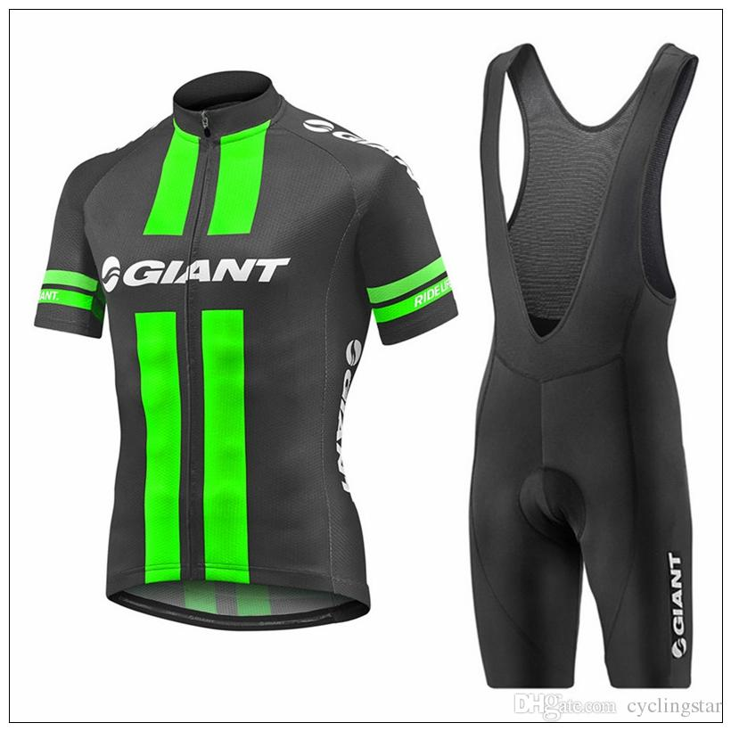 b057ac3a6 Giant Men Summer Cycling Jerseys Breathable Short Sleeve Ropa Ciclismo  Mountain Bike Clothing Bike Shirts+Gel Pad Bib Shorts Suit M2201 Cycling  Jersey ...