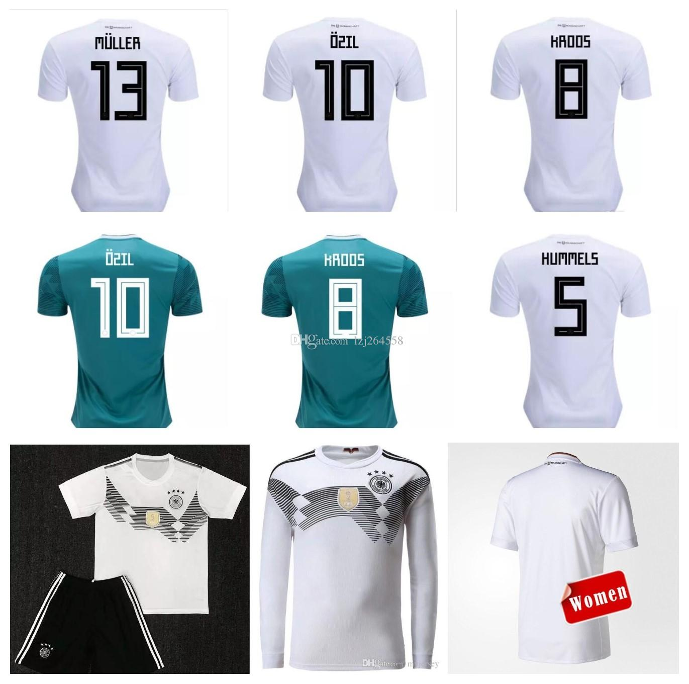 57ebc962886 Whosales Germany Jersey 2018 World Cup Soccer Jersey Football Shirt ...