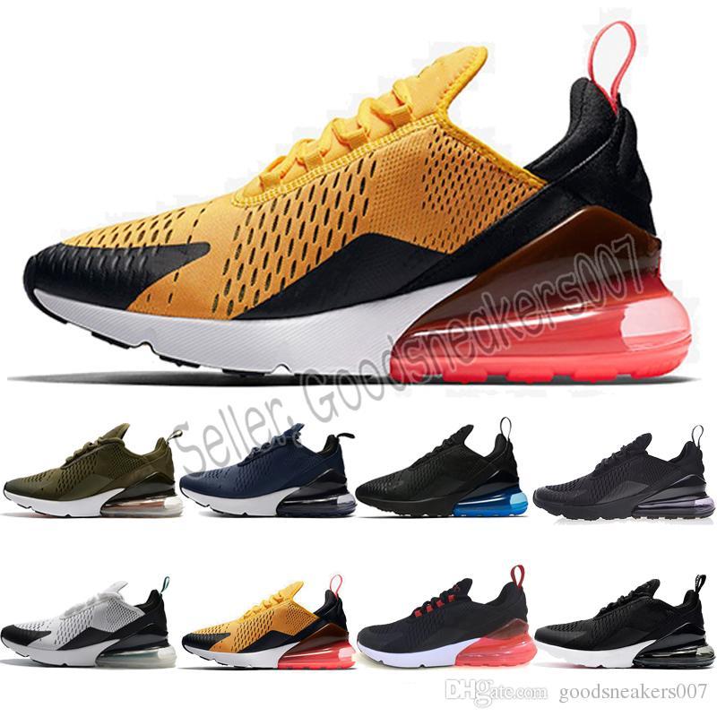 quality design 9f49e e0f61 2018 Nike Air Max 270 Nuevas Zapatillas De Verano Flair Male Modelos  Femeninos Transpirable Semi Cushion Sneakers Mesh Zapatillas Deportivas  Negro Seismic ...