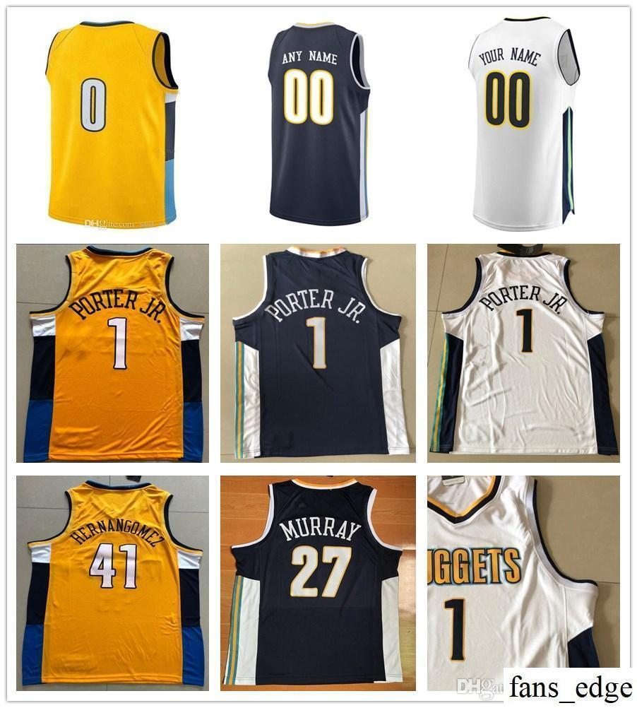 huge selection of bcdfb c07bf Printed 1 Michael Porter Jr. 0 Isaiah Thomas Jersey Juancho Hernangomez  Paul Millsap Gary Harris Mason Plumlee Will Barton Jamal Murray