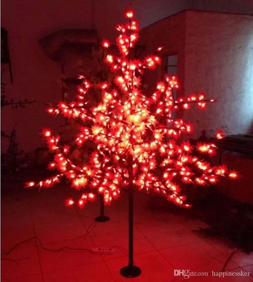 2018 672 leds 18m height led maple tree led christmas tree light waterproof 110220vac redyellow color outdoor use from happinessker 20101 dhgatecom