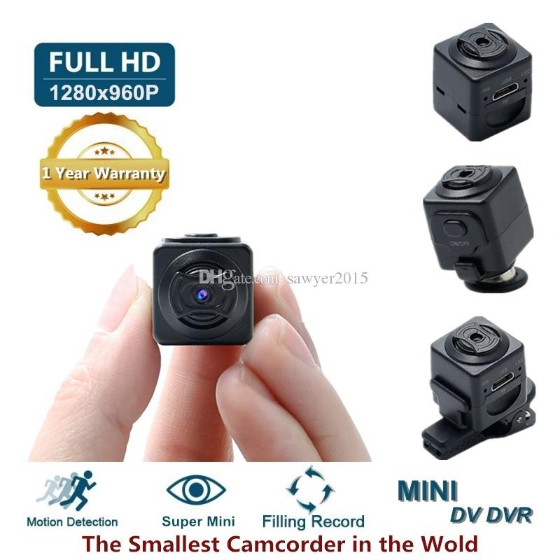 Mini Camera S5 Full HD 960P Portable Pocket Camera Motion Detection DV DVR digital video recorder support TF card