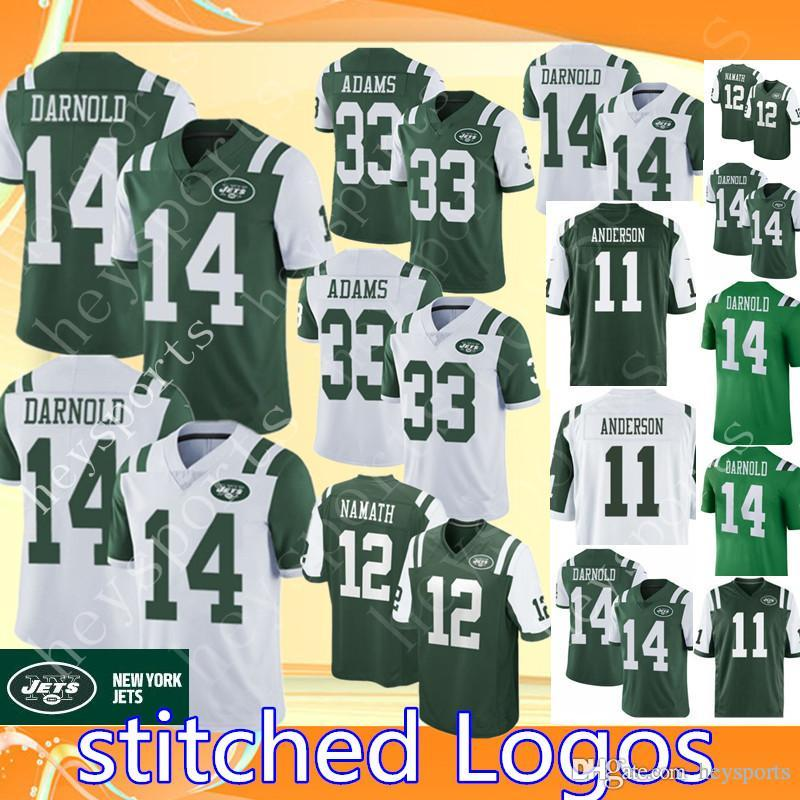5fabad323 ... new york jets football jerseys 2018 Top 14 Sam Darnold ...