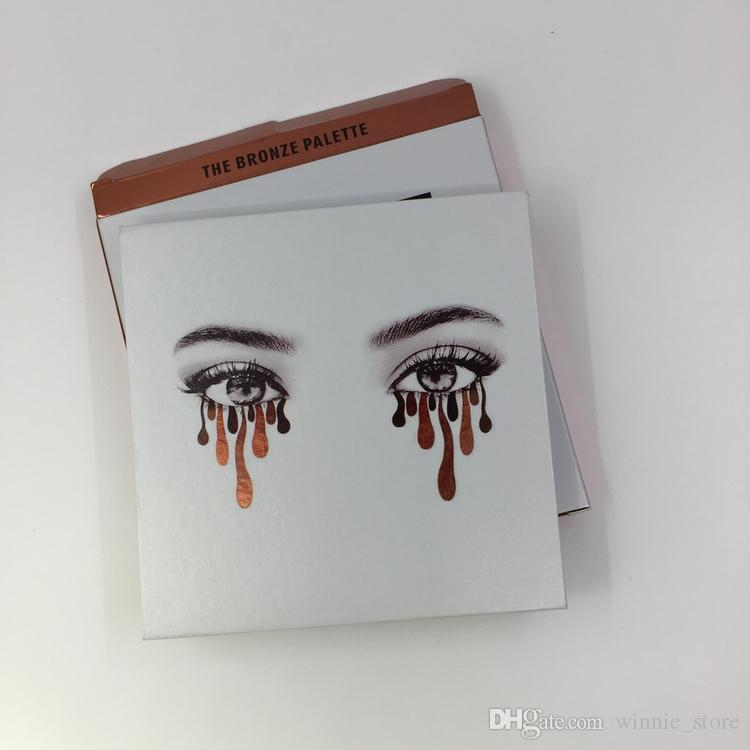 by ePacket Best Quality Eyeshadow Palette the Purple & Bronze & Burgundy & Holiday Eye Shadow Palette + Gifts