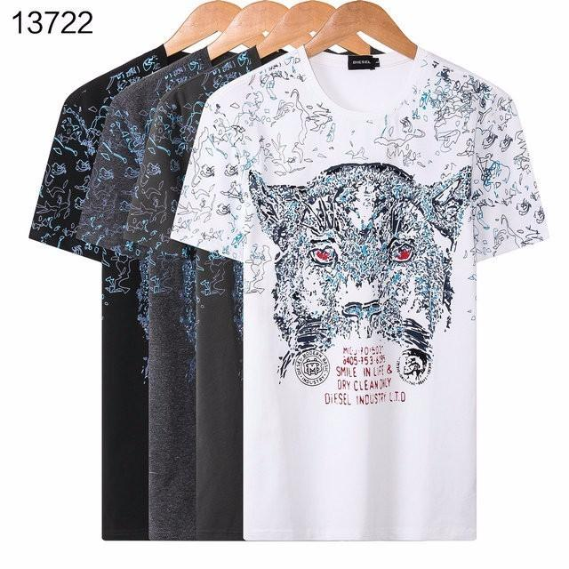 1c1c00fe3 Men's Clothing T-shirt Hot Sale Fashion Men Tiger Head Cotton T ...