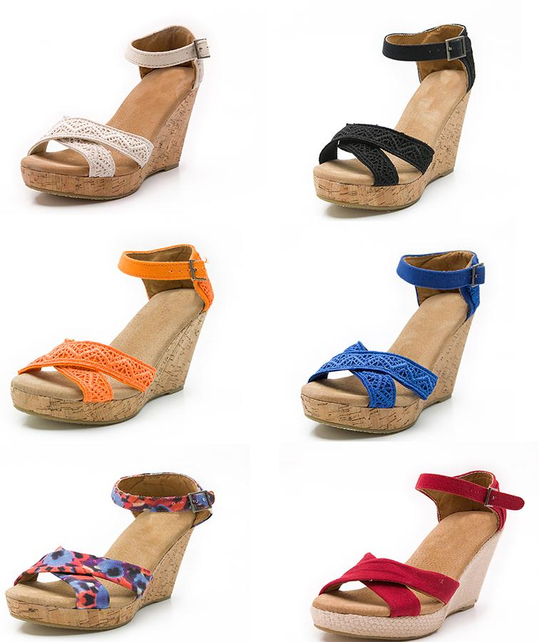 5f37647aaf7e3 Hot Sale Women Platform High Heels Wedge Sandals Size 35 39 Open Toe Flip  Flops Ladies Woven Casual Buckle Strap Summer Shoes Sandal Comfortable Shoes  ...