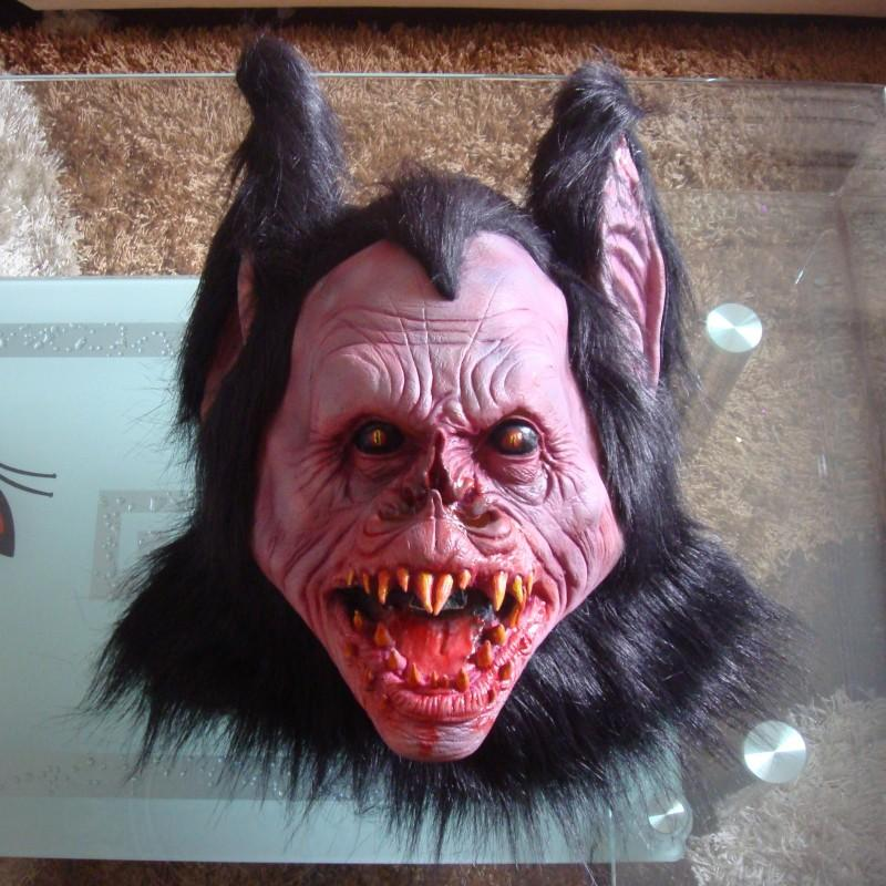Halloween Ghost Festival Animal Mask, Cos Orangutan Headgear Pig Head Shaking Performance Live Broadcast Props Tiger Wolf