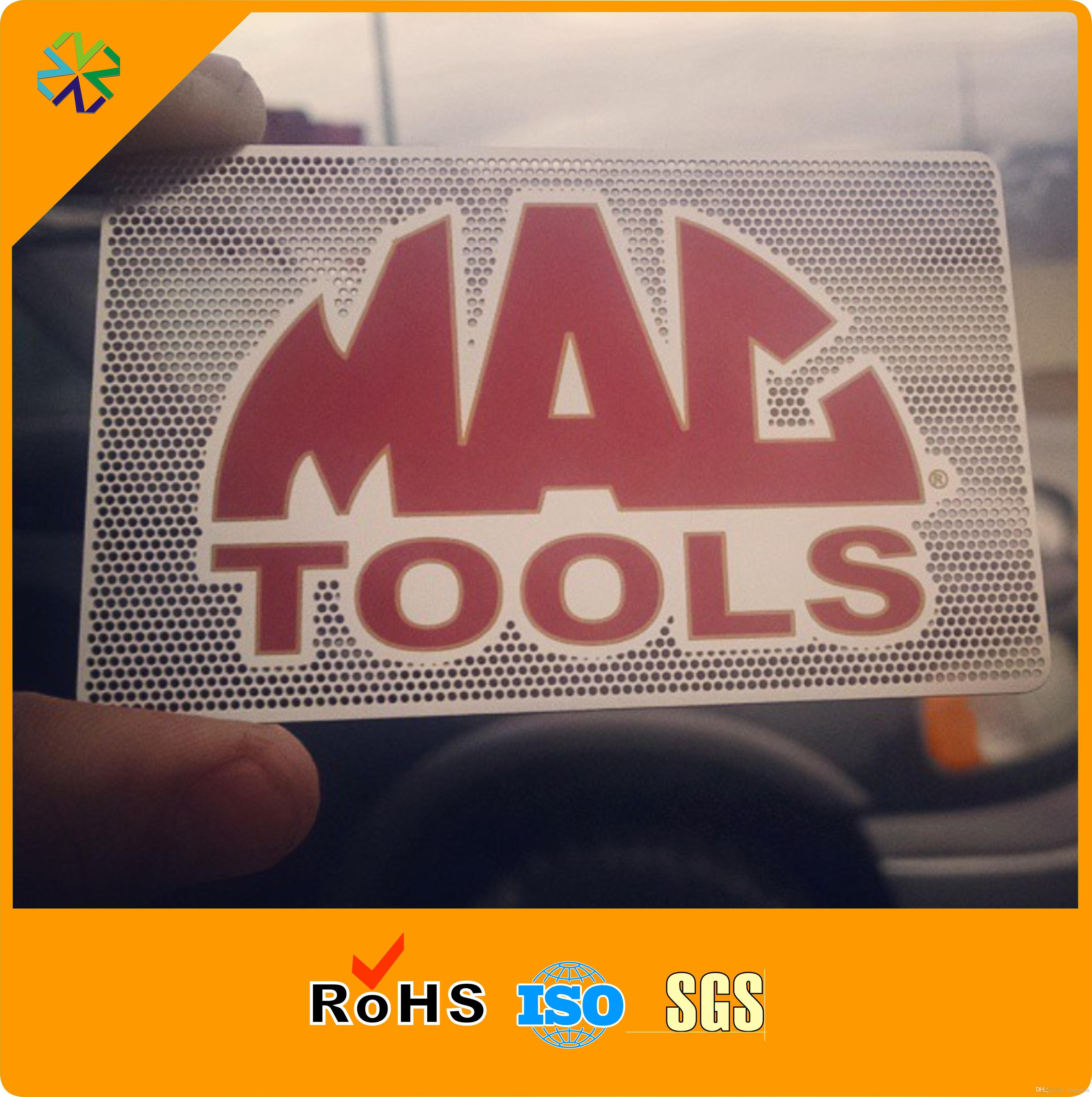 Benutzerdefinierte Logo Größe Farbe Stahl Material Hochwertige Metall Visitenkarten Drucken
