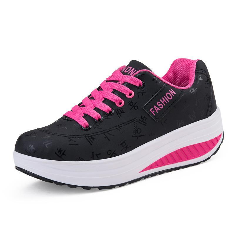 À De Course Femmes Chaussure Sneakers Pied En New Chaussures Kezrea Femme Augmentant Cuir Sport Hauteur Forme Lady D'été Plate hrdtsQ