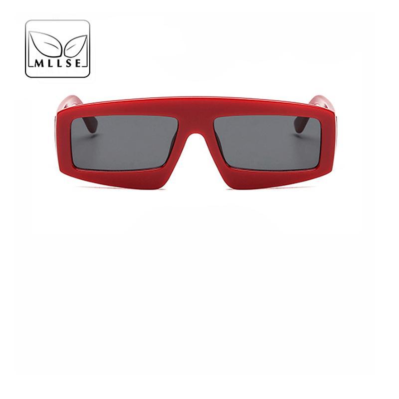 7a1fe6ad0a Compre Gafas De Sol Extragrandes De MLLSE Para Mujeres Y Hombres Con Marco  Cuadrado Moda Elegante Vintage El Nuevo Eye Wear Gafas De Sol Unisex A  $33.73 Del ...