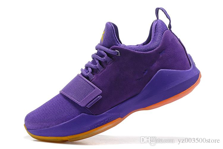 97485bfe5be 2019 PG 1 Zoom Men Basketball Shoes Glacier Grey Ivory Ferocity Paul George  Sneakers Low Mens Sport Shoe PG1 Trainer Sneaker Black Red From  Yz003500store