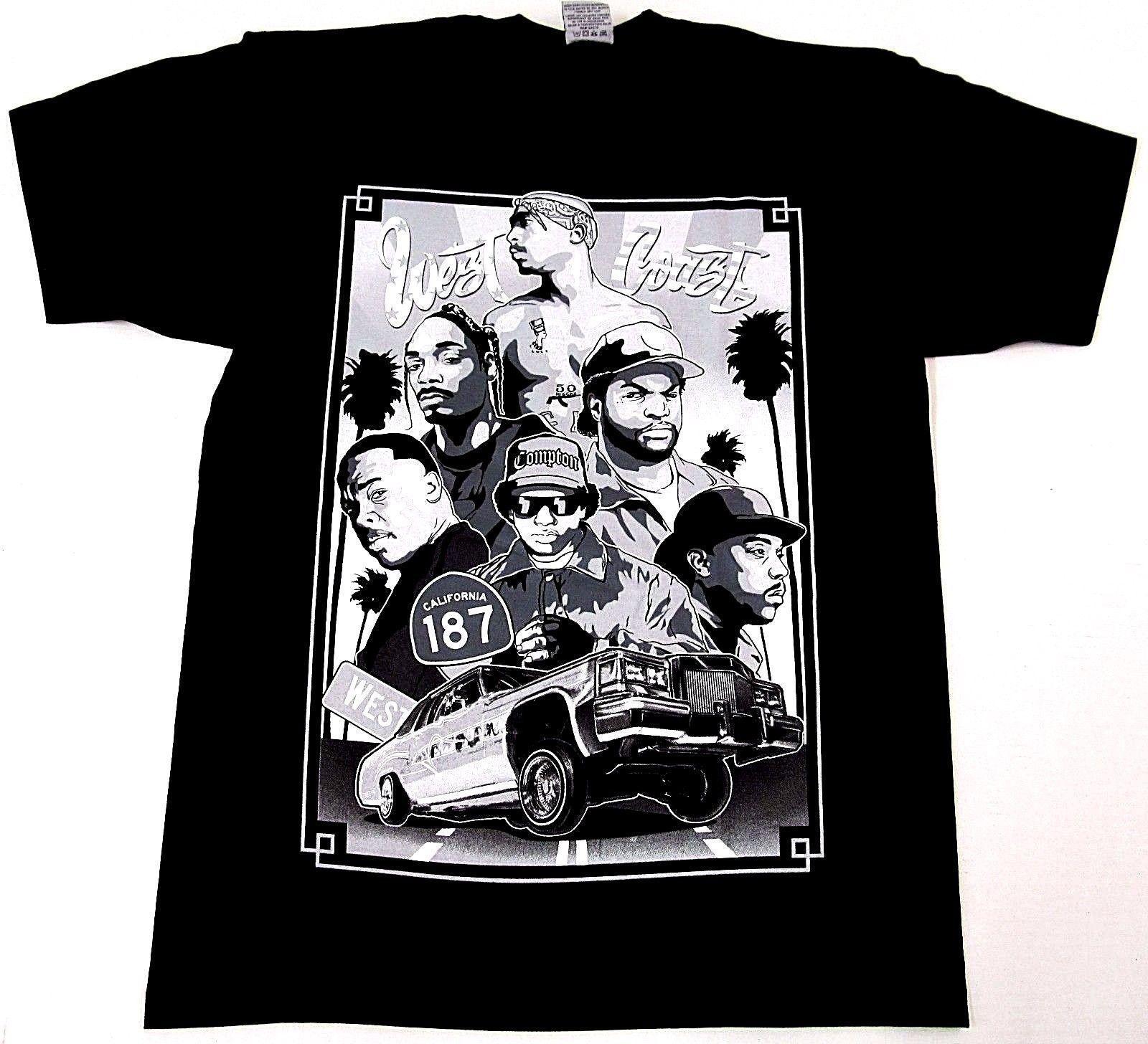 West Coast Rappers T Shirt - raveitsafe