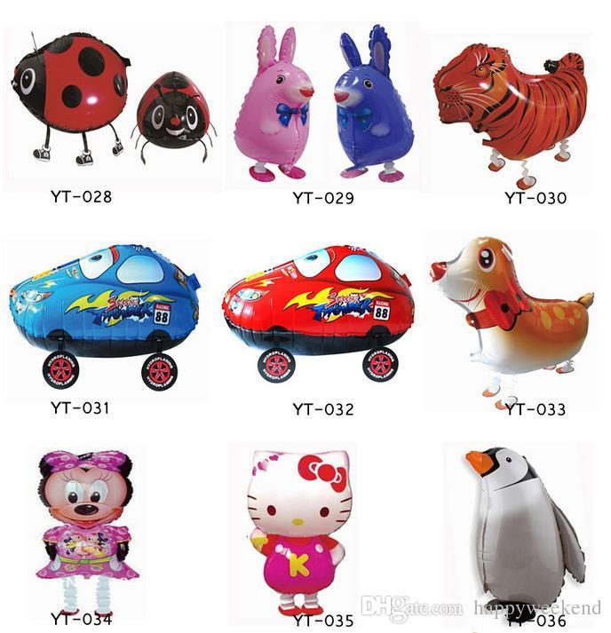 Assortiment Conception Marche Ballon Animal Hybride Modèles de Ballons Animaux Enfants Partie Jouets Cadeau D'anniversaire Chiot globos