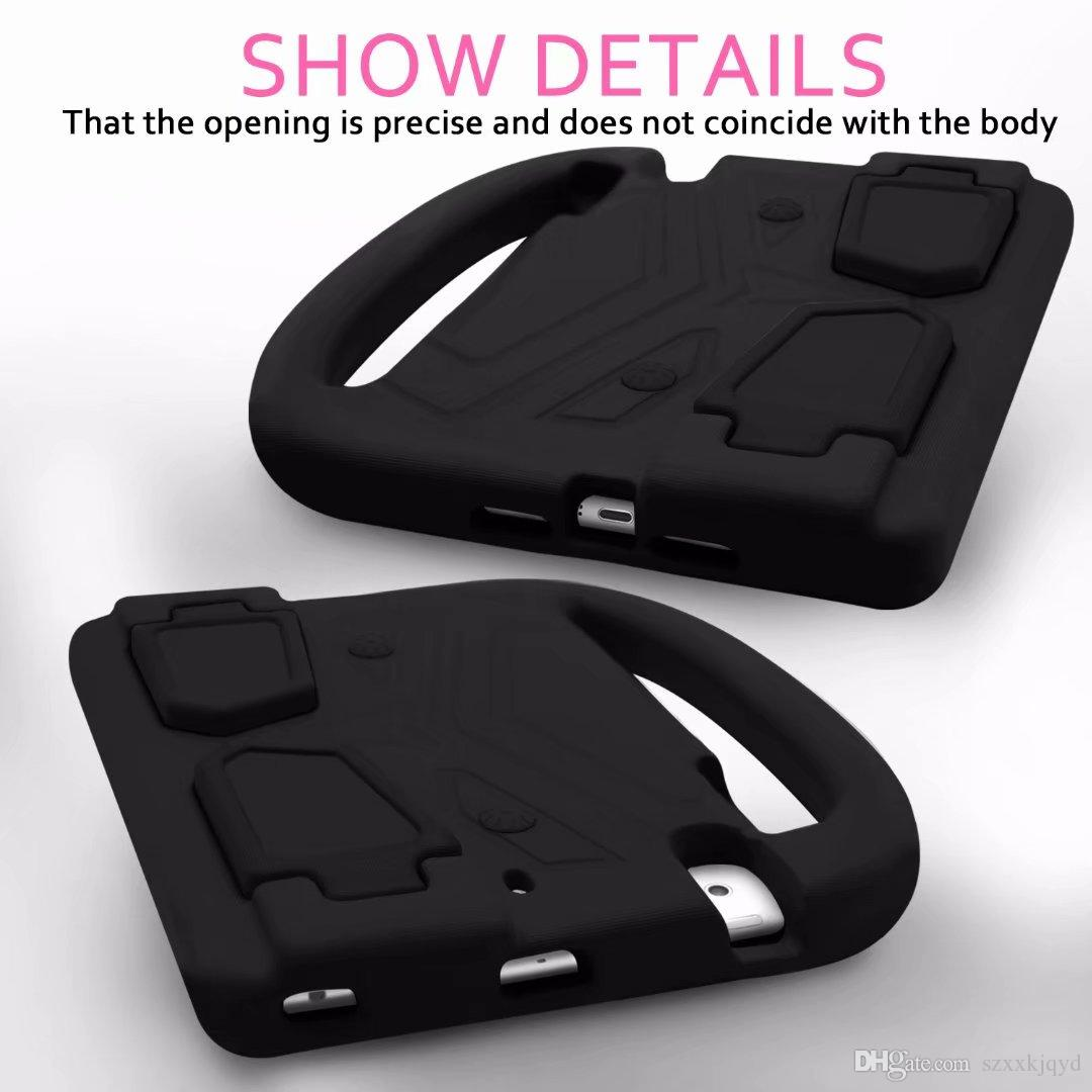 Shockproof Kid Baby Safe Case for iPad Mini 1 2 3 4 Handles Stand Soft Cover Tablet Silicone Case for iPad mini 4 7.9''