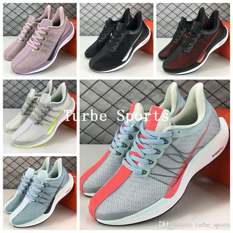 best loved 3f7f5 30e0c Compre 2018 Nueva Llegada Air Zoom X Pegasus 35 Turbo 2.0 X React Para  Mujer Para Correr Zapatillas P35X Sports Brand Sneakers Vaporfly A 83.41  Del ...