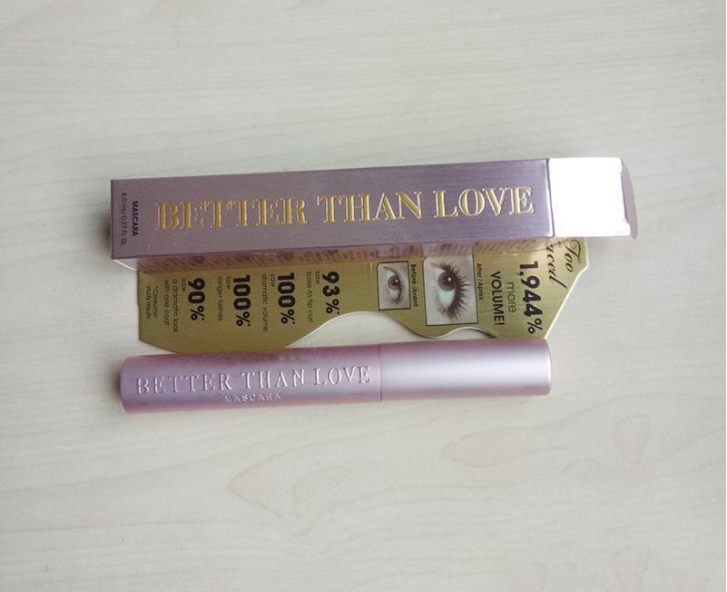 New Face Cosmetic Meglio del sesso Masacara Better Than Love Mascara Black Color di lunga durata Più volume 8ml di spedizione in drop