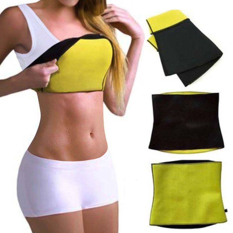 7e042641458 Neoprene Sauna Fashion Waist Trainer Weight Loss Slimming Fitness ...
