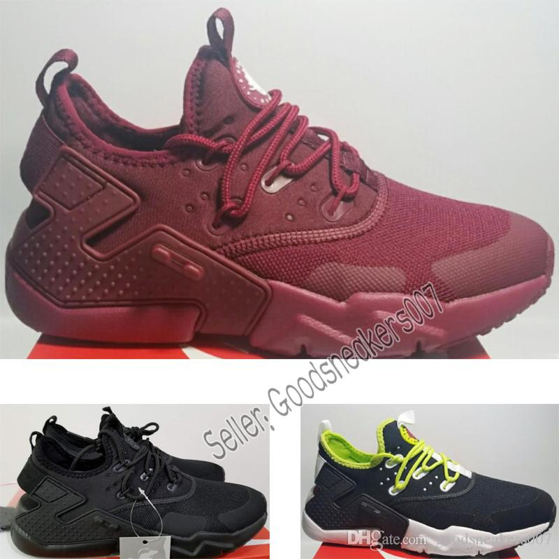1492550f47f8 HOT Newest Huarache 6.0 Acronym City MID Leather Running Shoes Men ...
