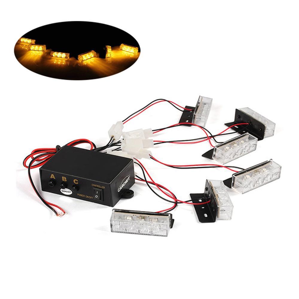 Cool Hehemm 18 Led 30W Car Fog Light Emergency Vehicle Strobe Lights Car Wiring Digital Resources Llinedefiancerspsorg