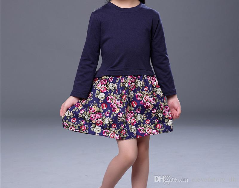 a0298fd0906 2 to 6 Years Girls Fall Floral Dresses