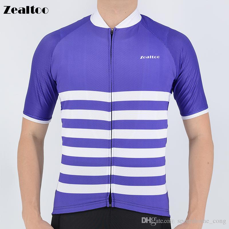 de3daccfa Zealtoo 2018 Men s Short Sleeve Cycling Jerseys Cycling Jerseys Mtb ...