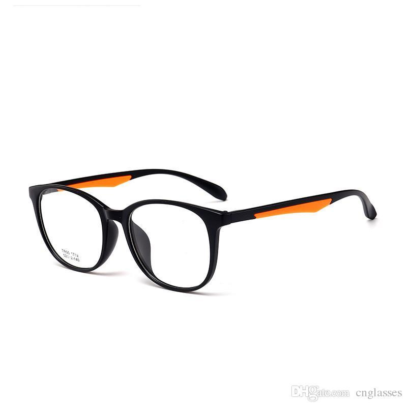 832a35bf4130 2019 2018 New Arrival Qualtiy Fashion Round Women S Style Eye Glasses  Fashion Tr90 Optical Frame For Men   Women Unisex Eyewear From Cnglasses