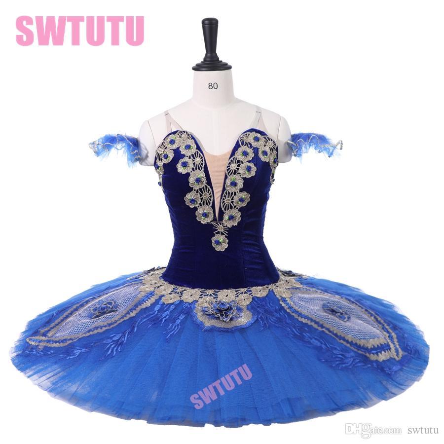 Acquista Costume Da Balletto Da Competizione Donna BT9215 Tutu Di Balletto  Professionale Adulti Classico Le Corsaire Blue Bird Performance Tutus A   195.98 ... f70aa26d814