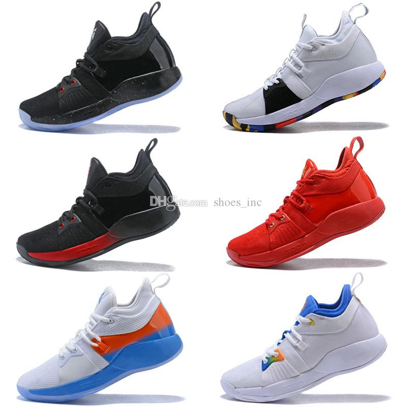 1f75183979b 2019 2018 New Arrival Paul George 2 Basketball Shoes For Hig Quality PG2  PS4 Playstation Black BLue Red White PG 2s Sports Sneakers Size 40 46 From  ...