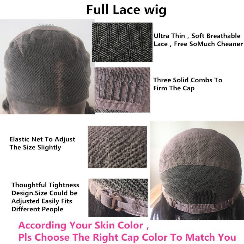 Volle Spitze Echthaar Perücke Senior silk perücke Seidige Gerade Volle Spitzeperücken Brasilianisches Reines Haar 100% Mit Pony Für frauen Farbe 33 #