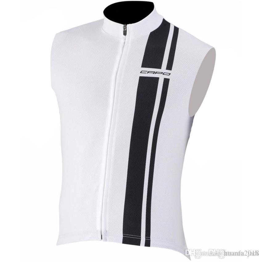 2017 Pro Cycling Clothing Sleeveless Bike Jersey Vest Summer Style ... 511060e20