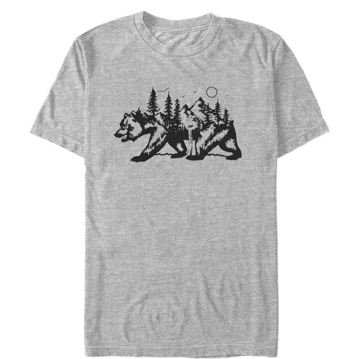 36bb9168 Lost Gods Bear Nature Shape Mens Graphic T Shirt Awesome Tee Different T  Shirts From Customteeshirt, $11.63| DHgate.Com