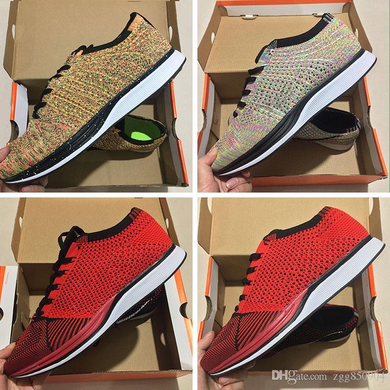 best website 13236 ee3a8 ... Nike Air Zoom Mariah Flyknit Racer Id Fk Zoom 2.0 Flykwire Maglia Uomo  E Donna Maglia Traspirante Linea Leggera Mosca Euro Taglia 36 45 Scarpe Da  Corsa ...