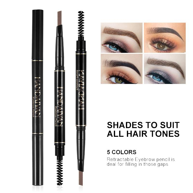 Handaiyan 24 Hours Long Lasting Waterproof Eyebrow Pencil Eyebrow