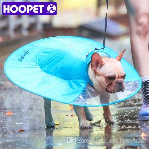 e2cc9a1b21 Acquista Creativo UFO Impermeabile HOOPET Pet Dog Cappotto Pioggia Vestiti  Impermeabili Cani Cucciolo Casuale Impermeabile Con Cappuccio Mantello  Costumi ...