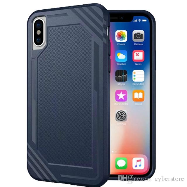 coque arriere caoutchou iphone 8 silicone