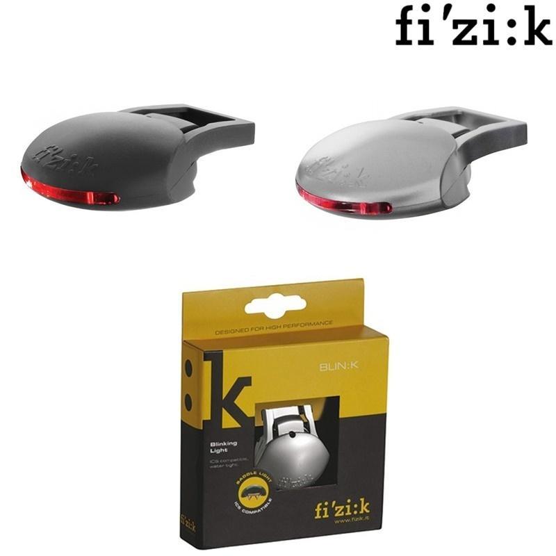 FIZIK Original BLINK Bicycle Saddle Taillight ICS System Water Tight  Cycling Warning Rear Light Fizik Saddle LED Flashing Lamp Y1892709