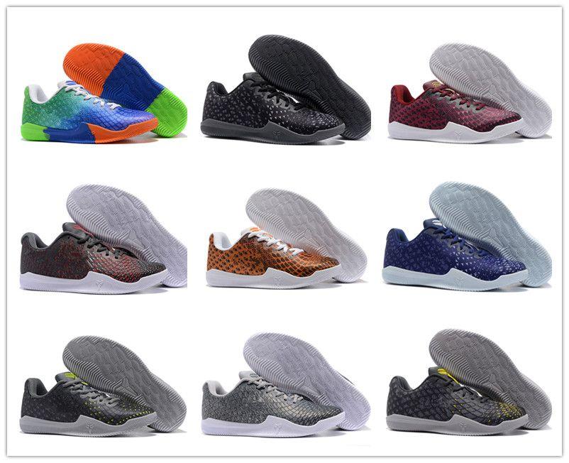 meet 13f11 52e71 Großhandel 2018 Billig Sale Kobe 11 Low Mentality 3 Sport Basketball Schuhe  Für Top Qualität Herren Damen KB 11s 3M Schwarz Weinrot Training Sneakers  36 46 ...