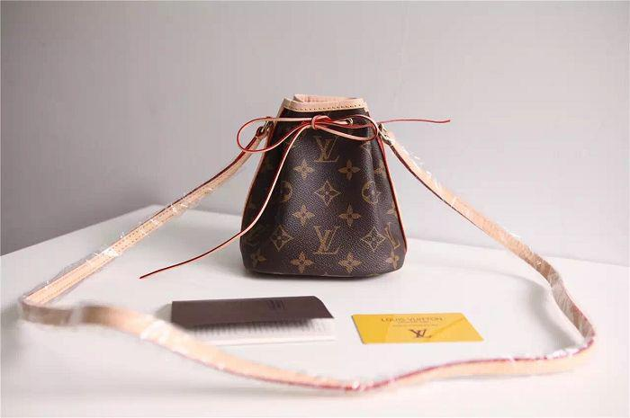 af6455d3f1 Nano Noe Handbag M41346 Mini Bucket Bag TOP OXIDIZED REAL LEATHER ICONIC  BAGS SHOULDER BAG TOTES CROSS BODY BUSINESS MESSENGER BAGS Satchel Laptop  Bags From ...