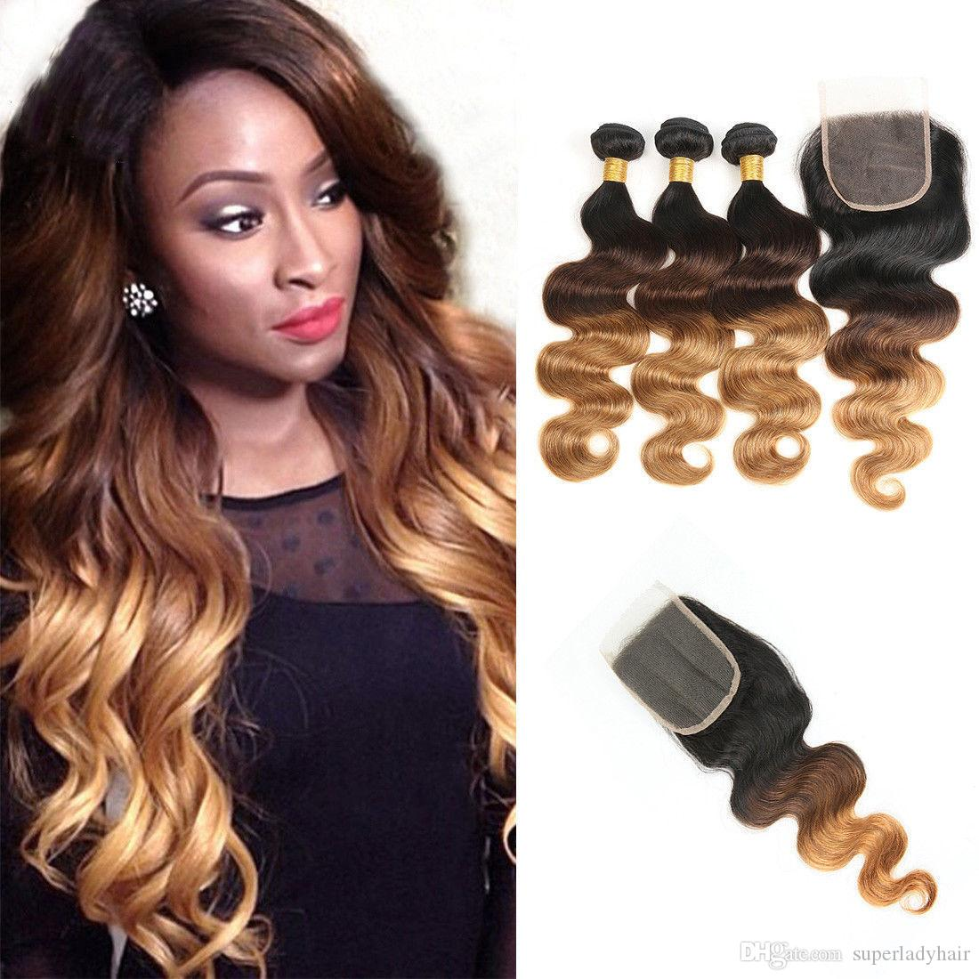 Brazilian Body Wave Human Hair Weaves Remy Virgin Hairpieces 3